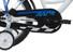 Vermont Race Boys lasten polkupyörä, sininen